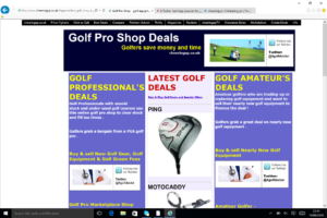 Buy from our Golf Pro Shop to play more golf 4 less