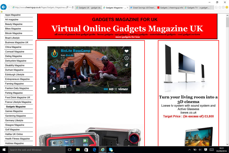 Virtual Online Gadgets Magazine For UK