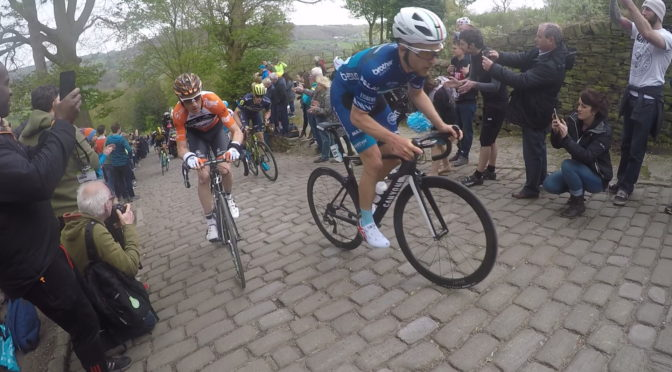 Tour De Yorkshire 2017 Leaders Hit Shibden Wall cheeringup.info