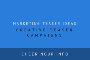 Social Media Teaser Campaign Examples