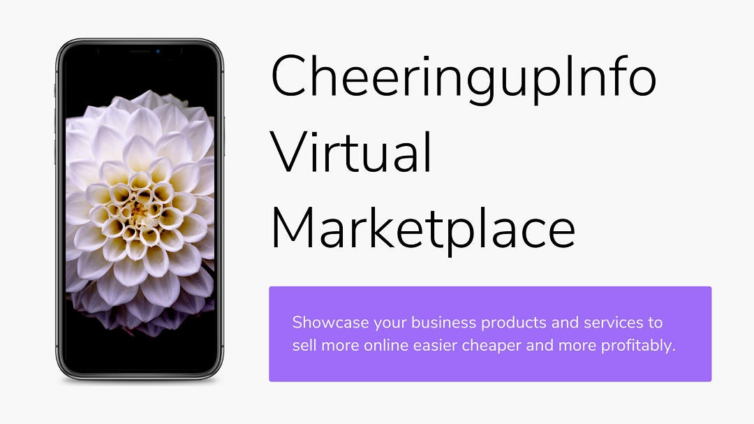 Virtual Online Market Place On CheeringupInfo