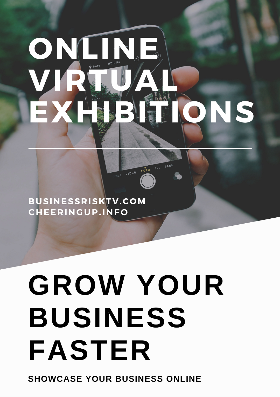 Virtual Exhibitions Online with CheeringupInfo