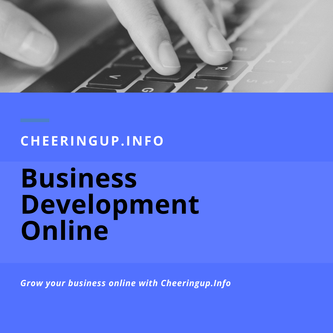 Online Business Development with CheeringupInfo