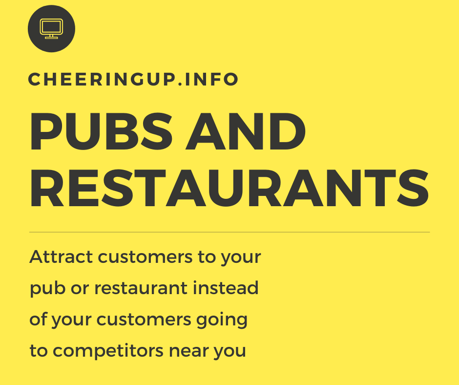 Discover new ideas to increase pub and restaurant business in UK